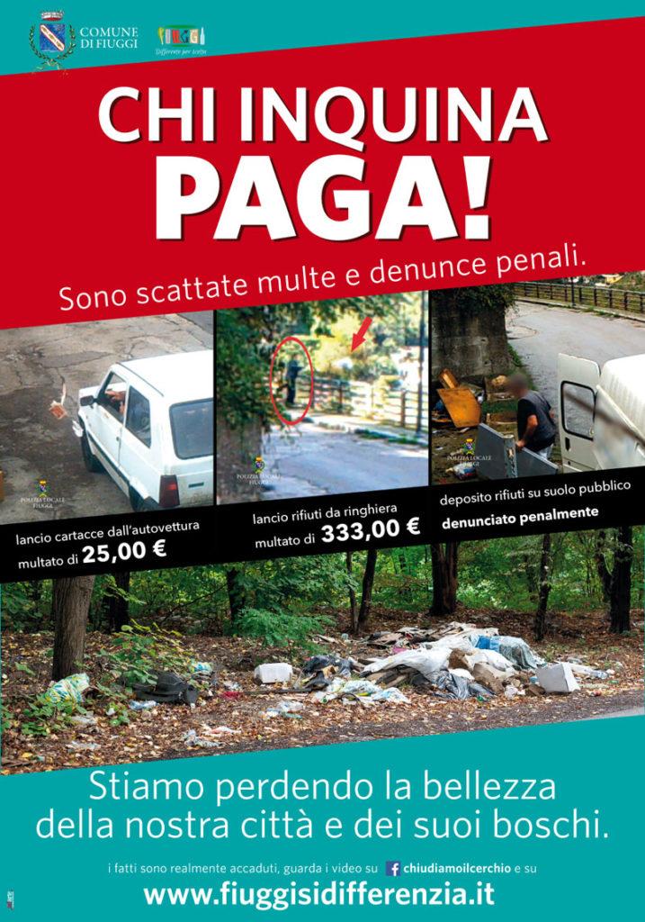 Manifesto Chi Inquina Paga
